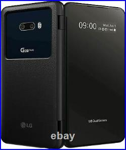 Brand NEW LG G8X Thinq 6.4 Dual Screen Smartphone 128GB Black GSM Unlocked
