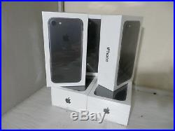 Brand NEW SEALED Apple iPhone 7 32GB Black (AT&T) A1778 (GSM) 1 year Waranty