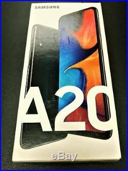 Brand New 2020! SAMSUNG GALAXY A20 ATT ONLY! - 32GB Black 4G LTE! Excellent