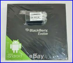 Brand New Sealed in Box BlackBerry Evolve 64GB Black GSM Unlocked Dual SIM