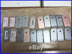 Bulk Lot of 20 Broken AS-IS Apple iPhone 6s