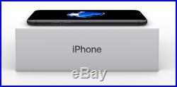 Fully Unlocked Apple iPhone 7 32GB Black AT&T T-Mobile Verizon NEW UNUSED