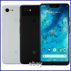 Google Pixel 3 XL Smartphone 64GB 128GB Verizon GSM AT&T T-Mobile Unlocked LTE