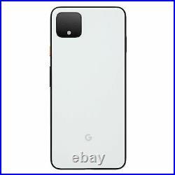 Google Pixel 4 64GB White Factory Unlocked 4G LTE Smartphone