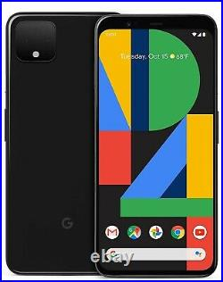 Google Pixel 4 XL 64GB Black Unlocked