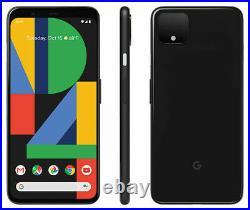 Google Pixel 4 XL G020J 64GB Just Black (Unlocked) -OpenBox