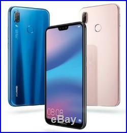 Huawei P20 Lite ANE-LX3 Dual Sim (FACTORY UNLOCKED) 5.8 4GB RAM Black Blue Pink