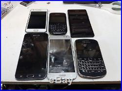 Joblot android phones & blackberries