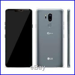 LG G7 ThinQ 64GB Smartphone (Unlocked) Platinum Grey Grade C
