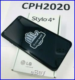 LG Stylo 4+ LMQ710WA AT&T GSM 6.2 Screen 32GB Phonem Aurora Black Unlocked
