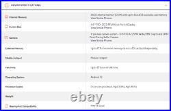 LG Stylo 6 (Q730MM) 64GB Sapphire Silver GSM UNLOCKED US & INTERNATIONAL