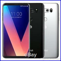 LG V30 H931 64GB Silver GSM Unlocked Phone A + Free 3 Months Service Plan