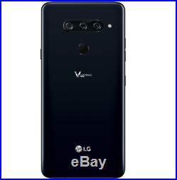 LG V40 ThinQ LM-V405UA 64GB Aurora Black UNLOCKED Smartphone