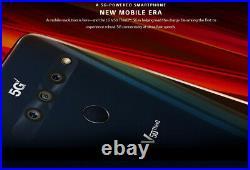 LG V50 5G ThinQ 128GB Aurora Black (Sprint CDMA & GSM Unlocked) A
