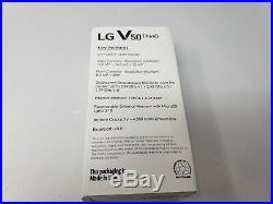 LG V50 ThinQ 128GB Black (5G Global GSM Unlocked AT&T T-Mobile Sprint) New