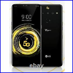 LG V50 ThinQ 128GB Black Sprint + CDMA GSM 5G Global Unlocked AT&T, T-Mobile