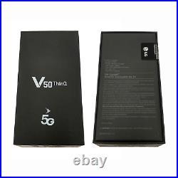 LG V50 ThinQ 5G 128GB LM-V450PM GSM Unlocked 6.4 6GB RAM Triple Camera Phone