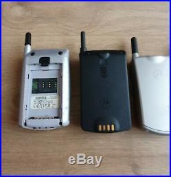 LOT MOTOROLA CELL PONES COLLECTION Motorola STARTAC ACCOMPLI V50 V70 SUPER RARE