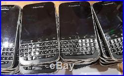 LOT OF 10 Blackberry Classic Q20 SQC100-4 Bulk WHOLESALE phone Good Working