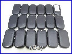 LOT OF 18 FAIR CONDITION AT&T SAMSUNG SGH-A237 BASIC FLIP PHONE With CAMERA GSM