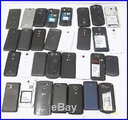 LOT OF 31 Smartphones Customer Returns &Trade Ins