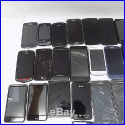 LOT OF 40 Smartphones Customer Returns &Trade Ins