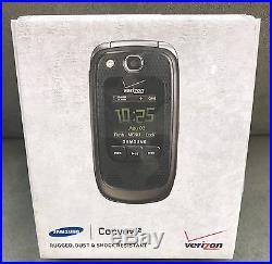 Lot Of 7 New In Box Samsung Convoy 2 Rugged Verizon Flip Phones Ptt Sch-u660