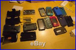 Lot (16) iPhone 4S (13 are 16GB, 3 8GB) Orig. Boxes, (6) Otter Cases, Verizon set