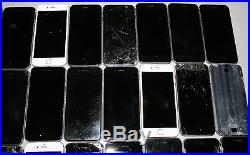 Lot 27 Apple iPhone 6 A1549 Cracked Broken Busted Cloudy for Parts AS-IS no Rtrn