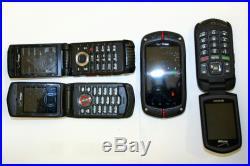 Lot 600 VERIZON CASIO C751 C771 C781 KYOCERA E4520PTT Rugged Phone UNTESTED AsIs