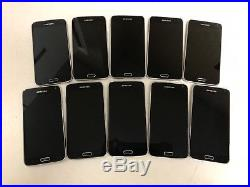 Lot Of 10 Samsung Galaxy S5 16gb Sm-g900v Verizon + Gsm Unlocked Cell Phones