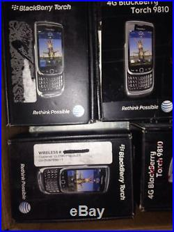 Lot Of 16 Blackberry curve -AT&T
