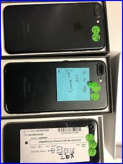 Lot Of 5 Iphones X/7/7plus
