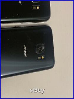 Lot Of 5 Samsung Galaxy S7 G930V Verizon + GSM Unlocked Smartphones CRACKED Back