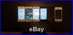 Lot Of 6 Apple IPhone A1387 A1428 A1533 1453 A1533 A1429