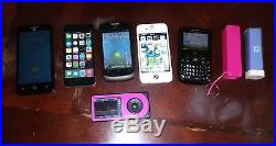 Lot Of Cell Phones And Electronics Ipod Iphone Samsung Dexcom ZTE Plus More