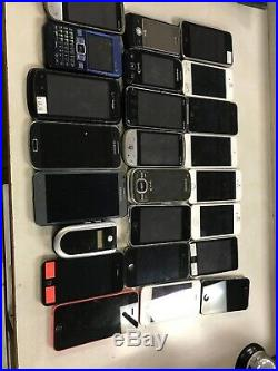 Lot Of Random Phones For Parts Or Repair