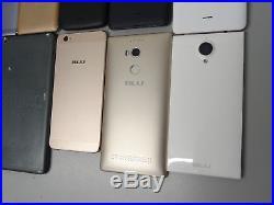 Lot of 10 BLU GSM Unlocked Smartphones Mixed Models AS-IS Parts & Repair