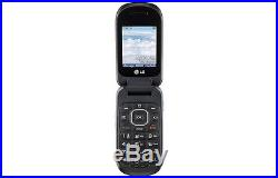 Lot of 10 NEW Unlocked LG Fluid II 2 AN170 Flip Phone Black CDMA Ready to Flash