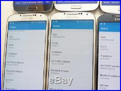 Lot of 10 Samsung Galaxy S4 16GB U. S Cellular SCH-R970 Smartphones AS-IS CDMA