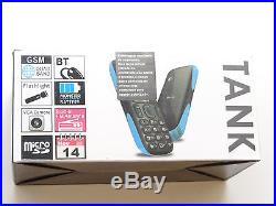 Lot of 12 New Sealed BLU Tank T191 Dual Sims GSM Unlocked Cell Phones Mix Colors