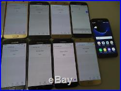 Lot of 13 Samsung Galaxy S7 SM-G930T 32GB T-Mobile Smartphones AS-IS GSM