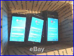 Lot of 15 LG K7 K330 T-Mobile Smartphones All Power On Good LCD AS-IS GSM