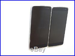 Lot of 2 Alcatel OneTouch Idol 4S 6071W 64GB T-Mobile Smartphones AS-IS GSM