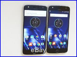 Lot of 2 Motorola Moto Z Play Droid XT1635-01 32GB Verizon Unlocked Smartphones
