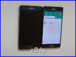 Lot of 2 Samsung Galaxy Note Edge SM-N915T T-Mobile Unlocked Smartphones AS-IS
