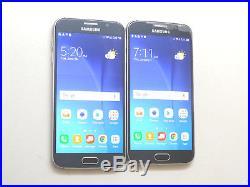 Lot of 2 Samsung Galaxy S6 SM-G920V 32GB Verizon Unlocked Smartphones AS-IS GSM