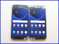 Lot of 2 Samsung Galaxy S7 SM-G930V 32GB Verizon Unlocked Smartphones AS-IS GSM#