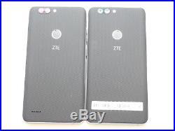 Lot of 2 ZTE Blade Z Max Z982 32GB MetroPCS Smartphones AS-IS GSM