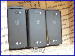 Lot of 35 LG Optimus Zone 3 VS425PP Prepaid Verizon Smartphones PowerOn AS-IS